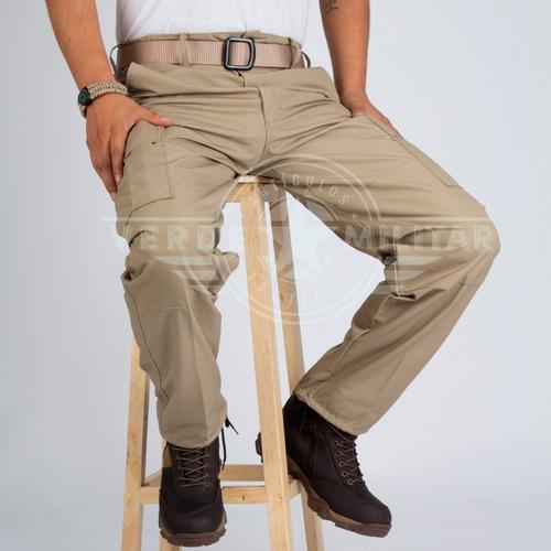 pantalón táctico militar bolsas de cargo comando operativo ripstop antirrasgadura uniforme trabajo uso rudo casual otan
