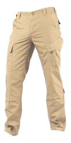 pantalon tactico rip stop beige arena prefectura corte acu