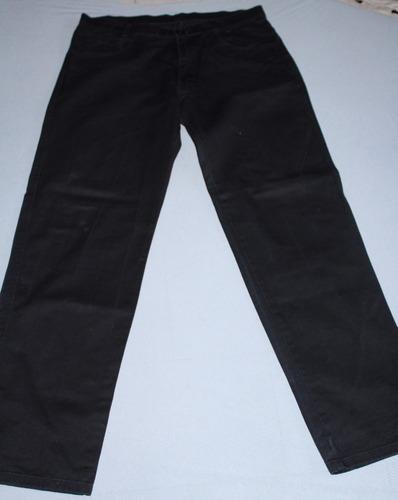 pantalon talla 34 azul oscuro