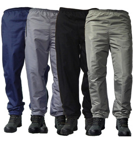 46c998a2 Pantalon Termico Impermeable Con Polar Nieve Negro Jeans710