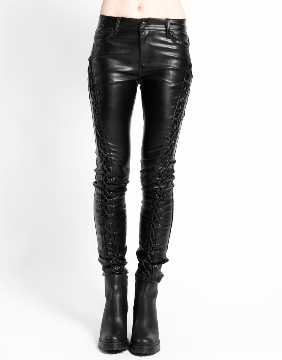 97aedf3f16e8 pantalon tipo cuero negro mujer skinny tripp zx4578 vaquero. Cargando zoom.
