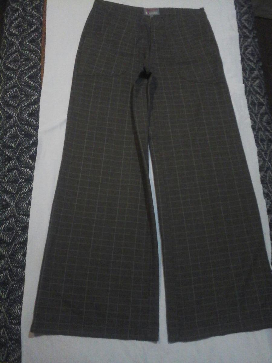 3ce98503ea383 pantalón tipo palazzo tipo príncipe de gales sarga mujer. Cargando zoom.