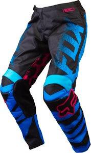 pantalón todoterreno fox racing 180 2015 niños negro/azul 4