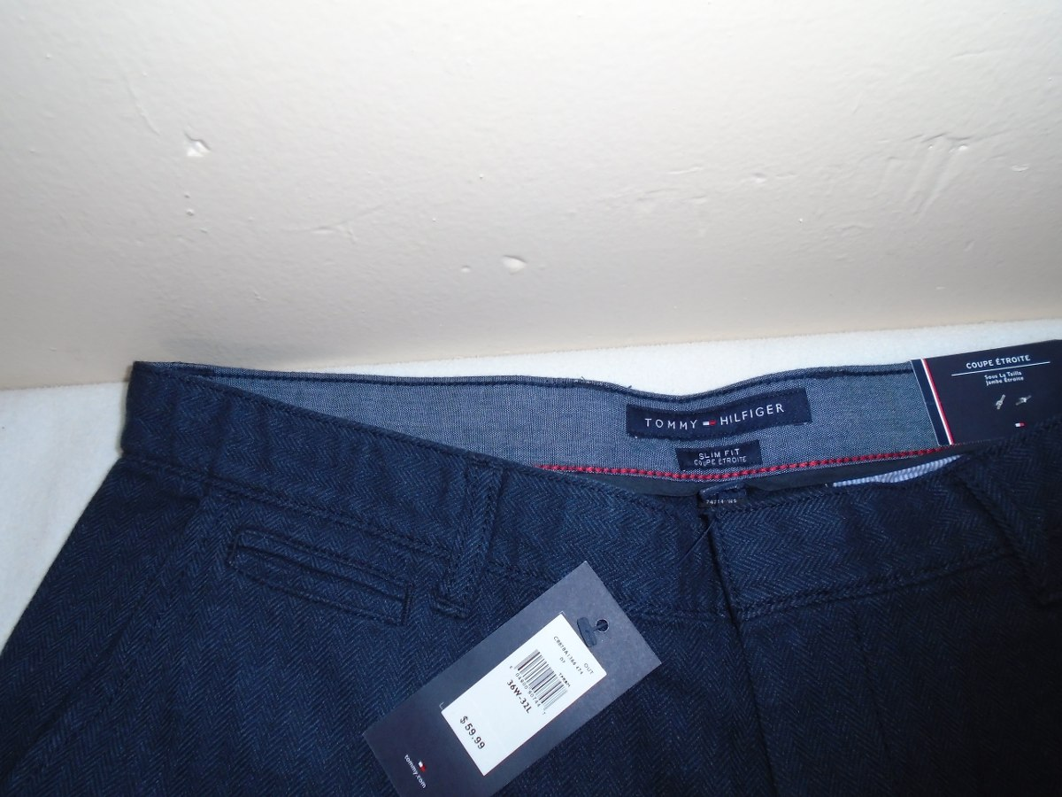new products newest collection good Pantalón Tommy Hilfiger (slim Fit) Coupe 36x32 100%original ...