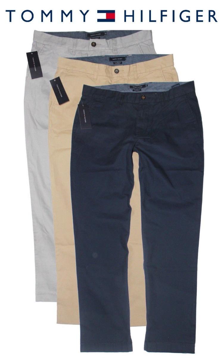 65a022e8a6a pantalon tommy hilfiger talla 34 para caballero 100% nuevo. Cargando zoom.