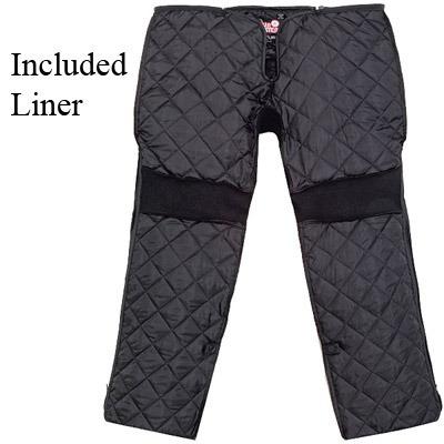 pantalón tourmaster venture de tela negra md