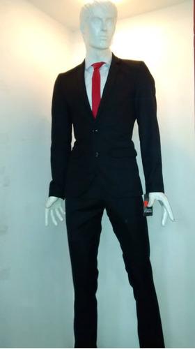 pantalon traje caballero corte slim fit