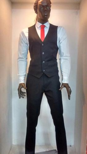 pantalon traje corte slim fit