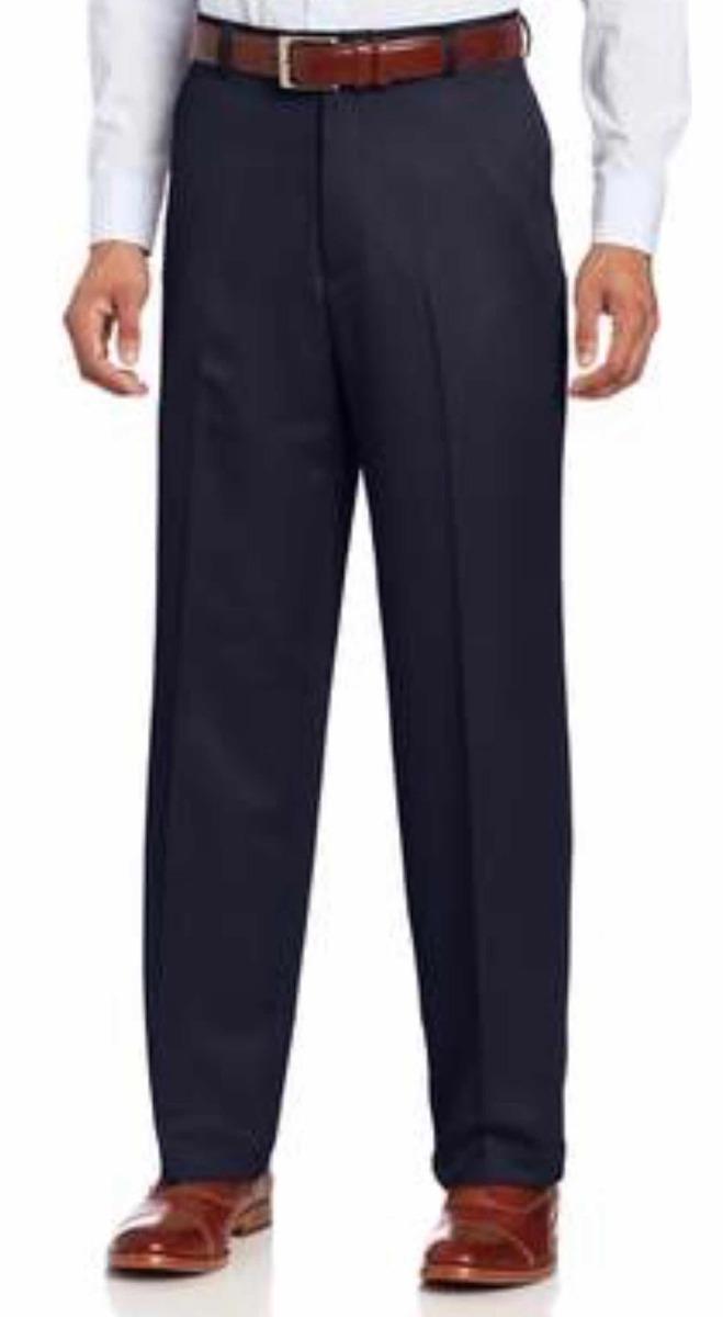 87ce051e0 Pantalon Traje Hombre Azul Izod - No Se Plancha - Talle 34 -   200 ...