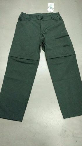pantalon trekking libo duplo desmontable bermuda  belgrano