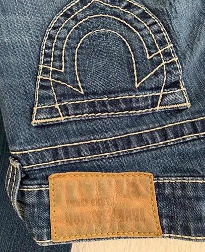 pantalón / true religion / corte recto / talla 24 / -mujer-