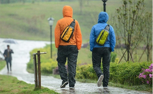 pantalón unisex impermeabale contra lluvia + envío gratis!