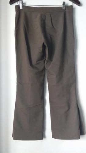 pantalon vestir complot marrón 23 envíos mercadopagos