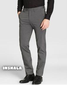 Pantalon Vestir Hombre Chupin Slim Exc Calidad Envios