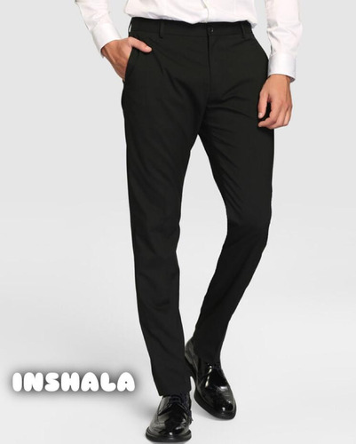 pantalon vestir hombre chupin slim exc. calidad envios!