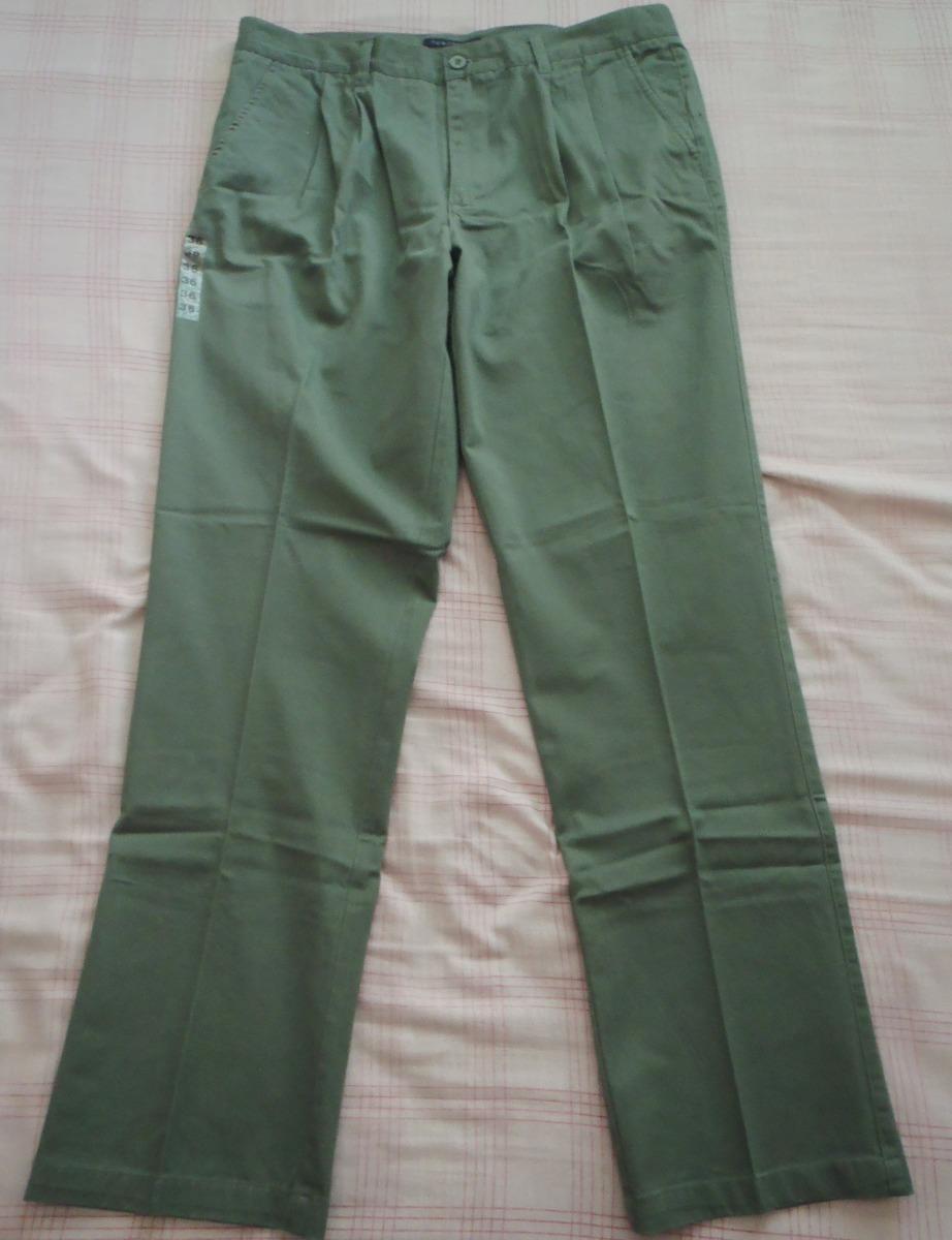 7cc3076f3 pantalon vestir para hombre caballero color verde talla 36. Cargando zoom.