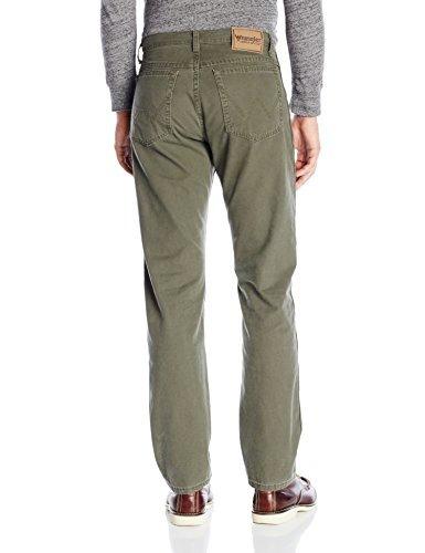 pantalon wrangler 100% algodón de pierna recta ajustada y r