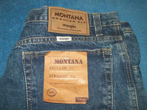 pantalon wrangler montana talle 36 l
