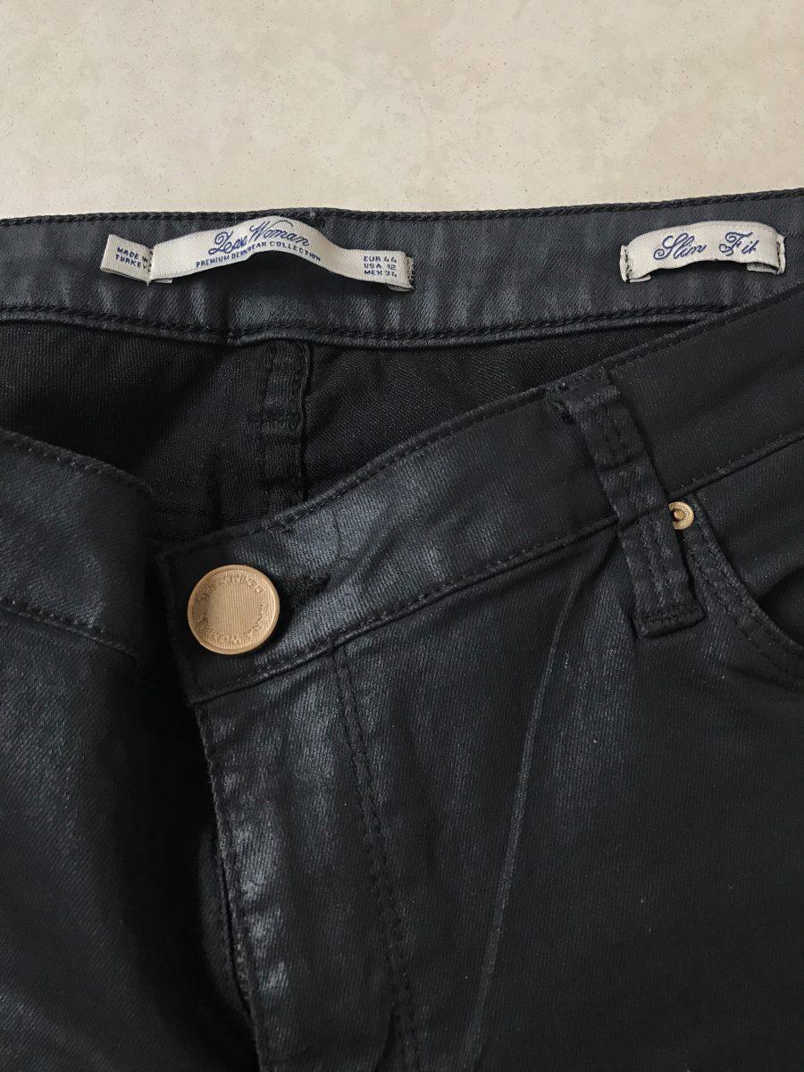 pantalones encerados zara hombre