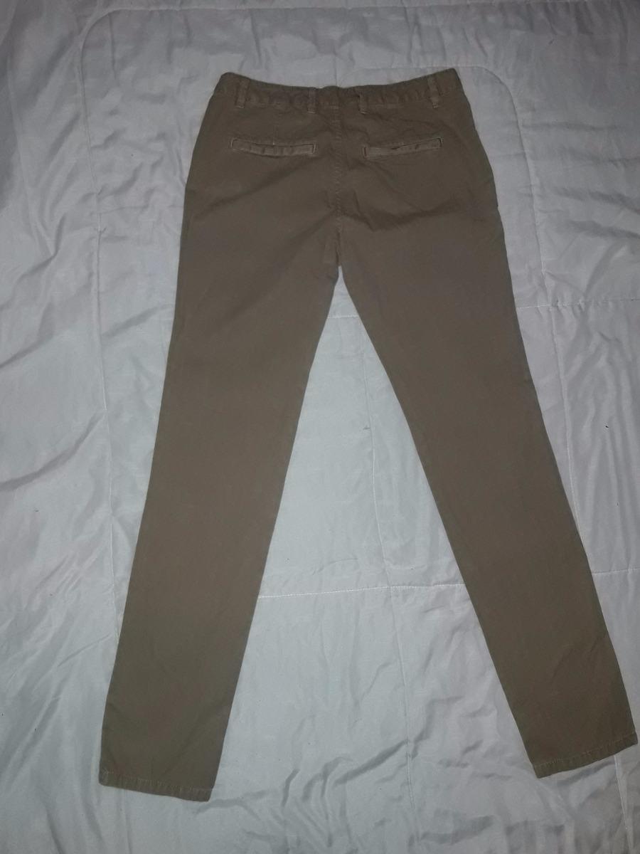 ef2215274e Pantalon Zara Man Basic Color Cafe Claro Talla 38 -   18.000 en ...