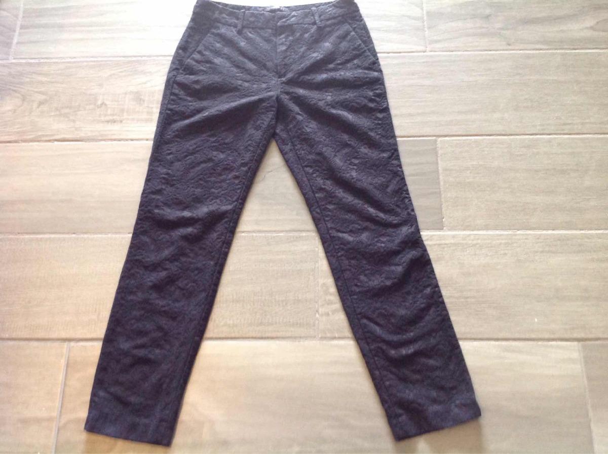 ea0c75af0 Zara Talla Zoom Xs Mujer Negro M Cargando Oficina Pantalon Elegante ...
