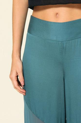pantalona transparencia farm - m - tenho antix, animale!