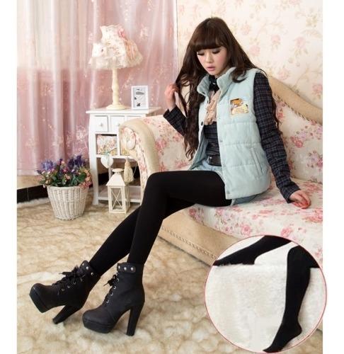 pantalone capris dama otoño-invierno forro polar f771