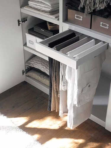 pantalonera extraible accesorios para closets venezzi