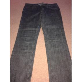Forever 21 Pantalon Jean Elastizad0 Negro Talle 27