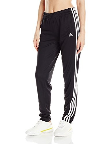 Para Adidas T10 MujerNegro BlancoMediano Pantalones 5ARjq3L4cS