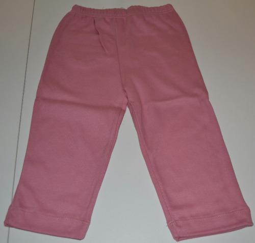 pantalones algodón sin frisa cheito niños little treasure