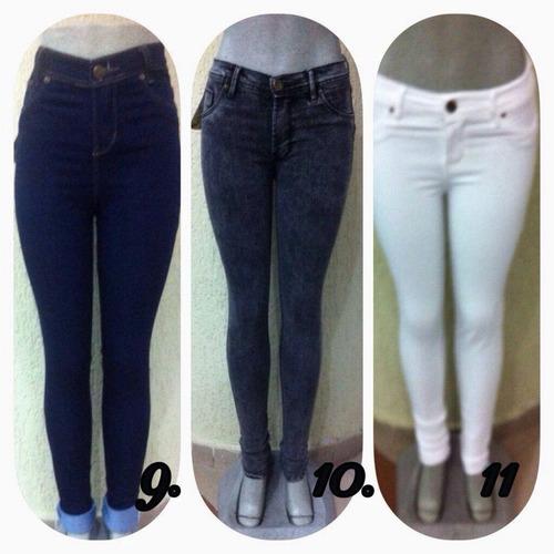 pantalones altos rotos