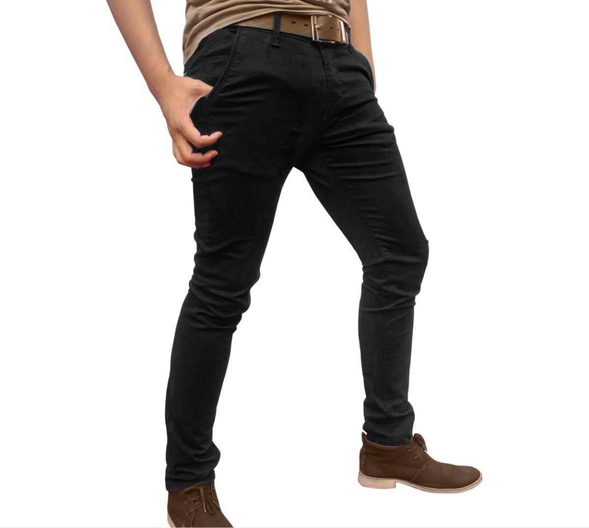 Pantalones Baratos Para Hombre Entubados Skinny - $ 330.00 ...
