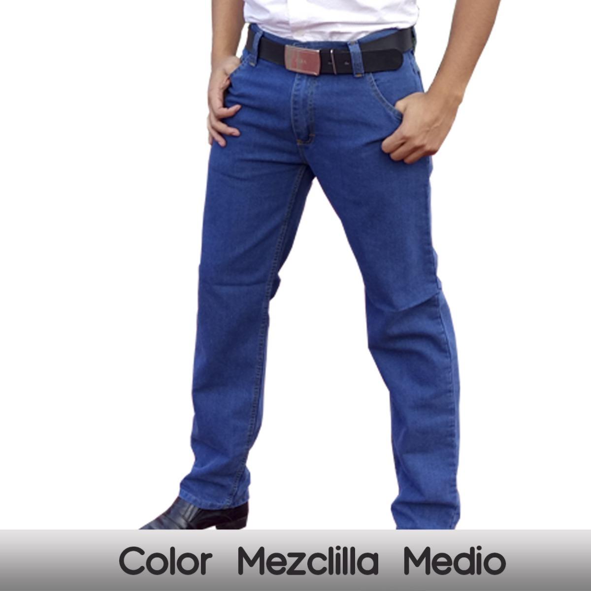 Caballero Vaquero Baratos Pantalones Corte Hombre 534LqjAR