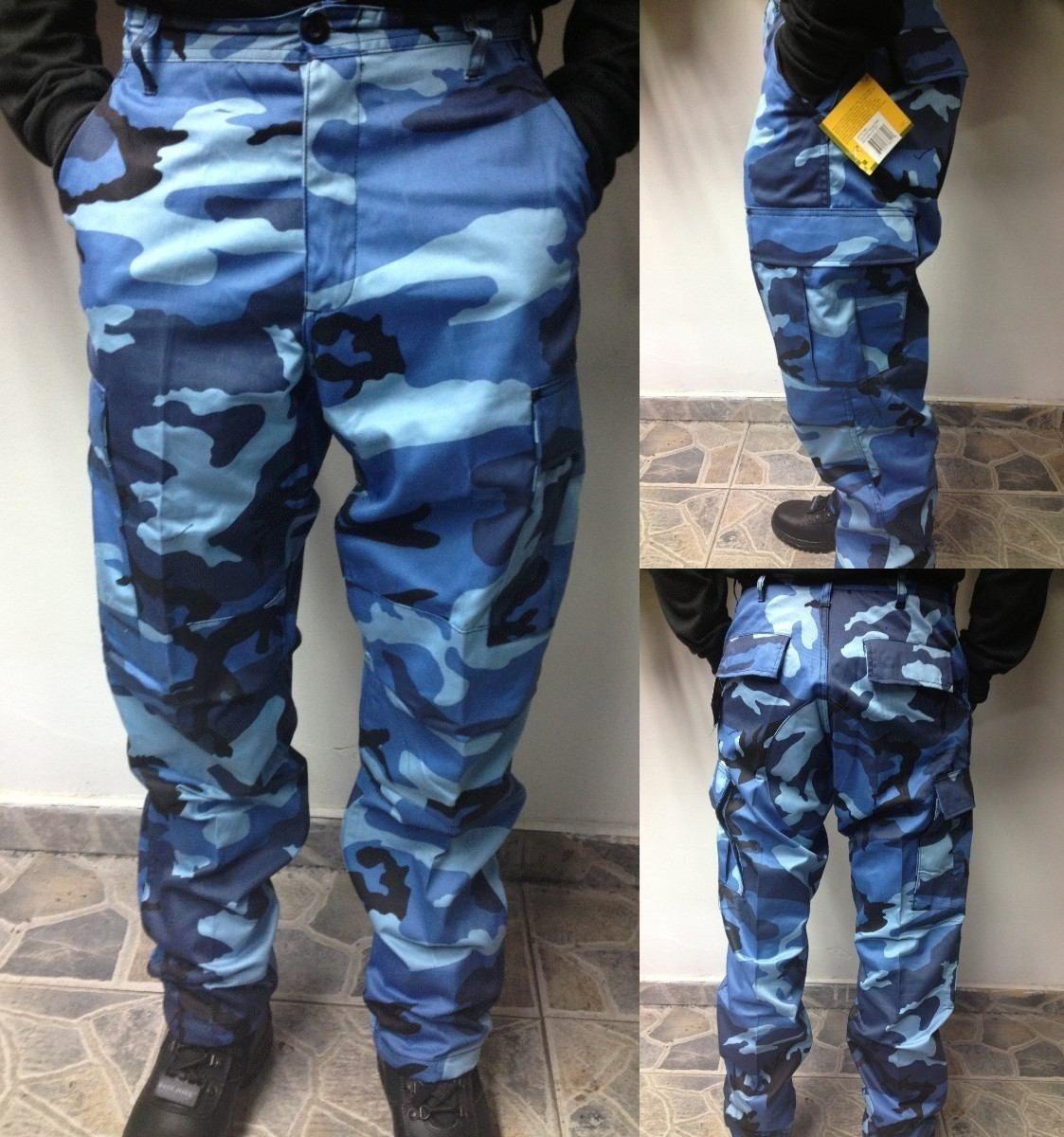 lo último 87595 ec897 Pantalones Camuflados Ripstop Antidesgarro De Combate