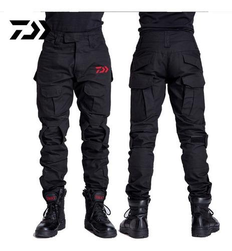 pantalones camuflaje para hombres, secado rápido, senderism