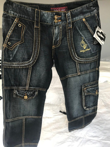 pantalones capri baby phat by kimora lee simmons nuevo t. 5