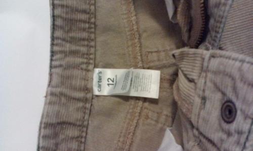 pantalones carter's niño.