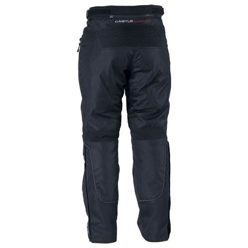 pantalones castle streetwear velocidad air mujer negro lg