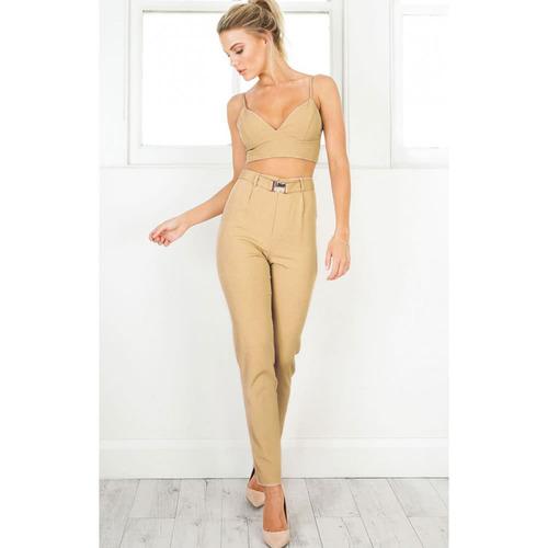 pantalones casuales de las nuevas camelo eu