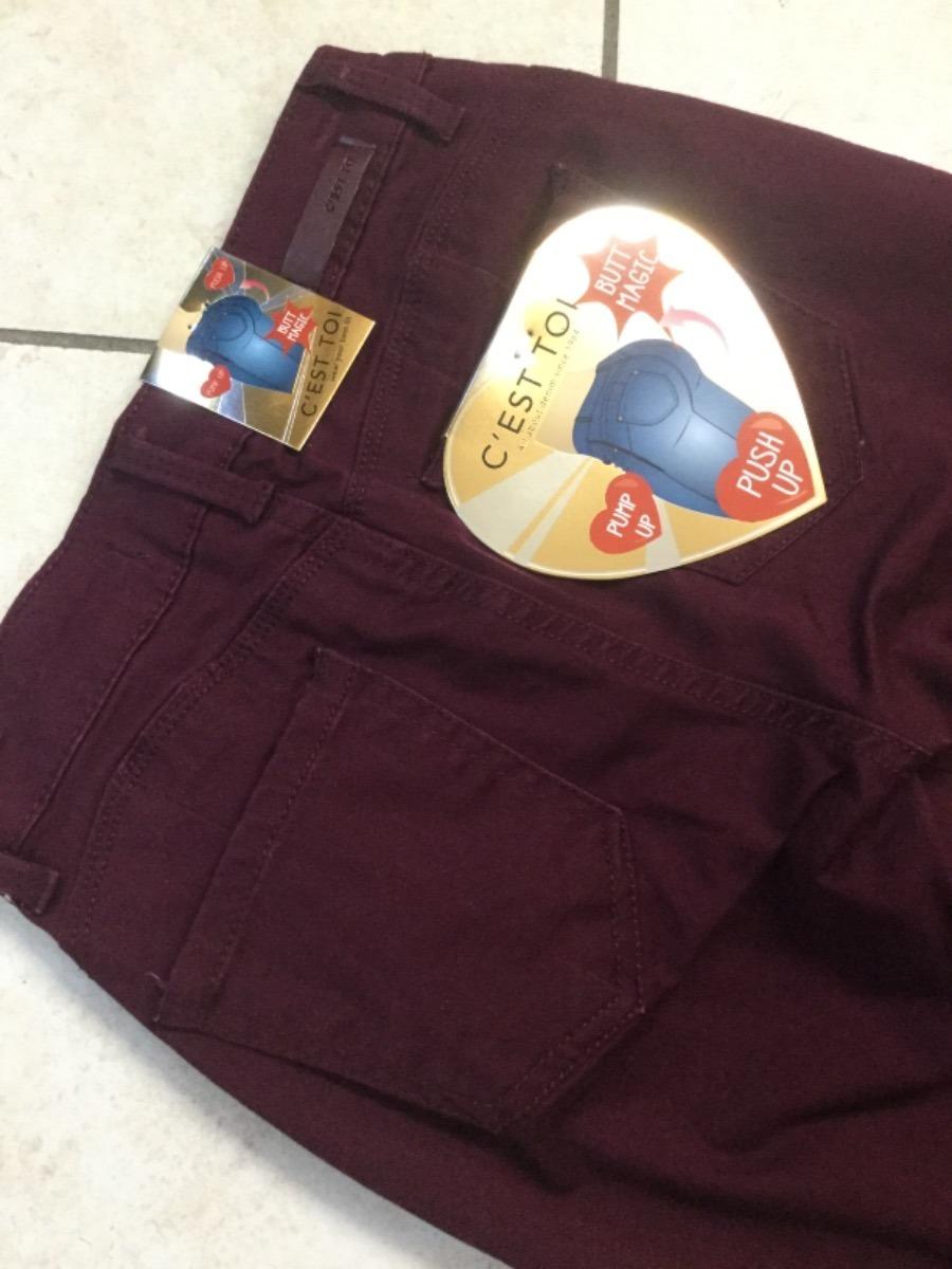 2bd2e6c7c8 pantalones Cest Toi Levanta Pompis -   395.00 en Mercado Libre
