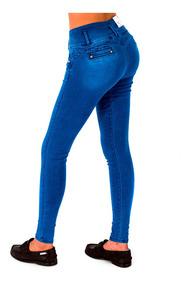 los recién llegados 1aaeb f2e5a Pantalones Colmbianos Jeans Dama Pantalon De Mezclilla Mujer Strech Varias  Tallas Calidad Levanta Pompa Push Up -10