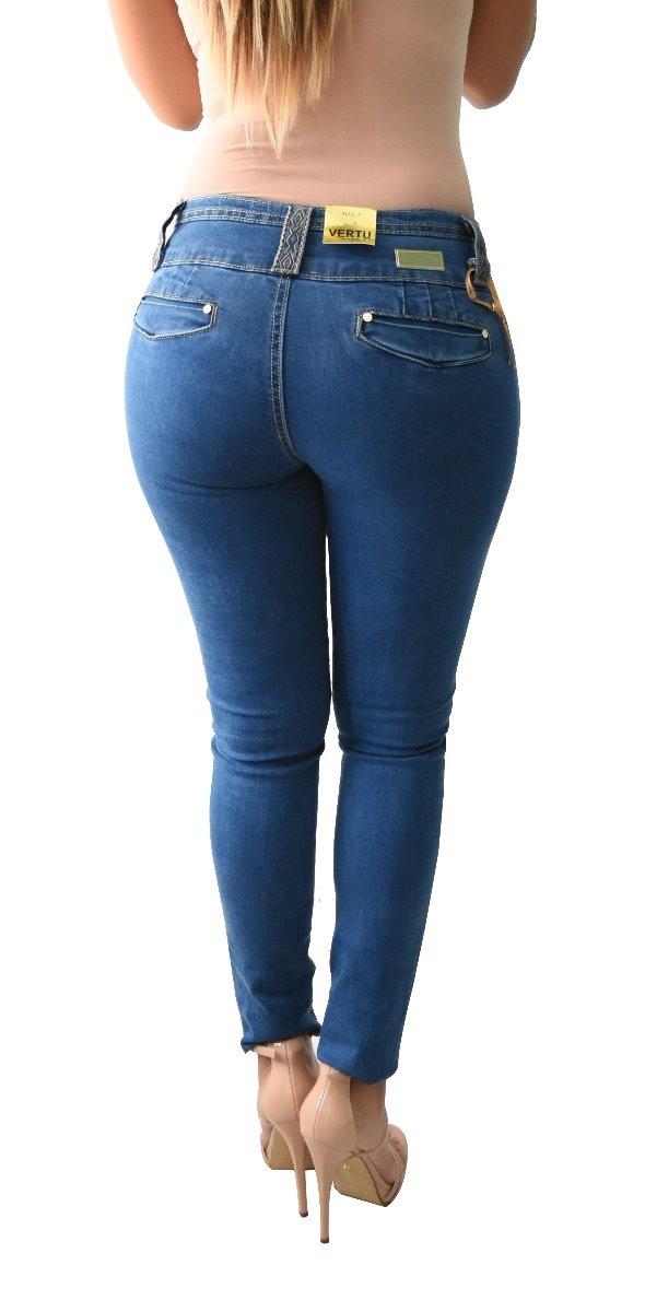 6b0c95cead1 pantalones colombianos jeans dama mezclilla push up v-f17. Cargando zoom.