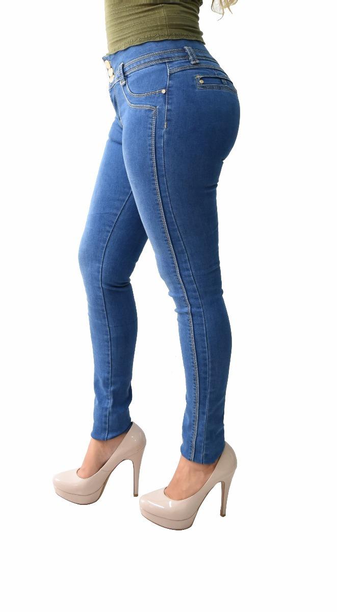 f05082f381c pantalones colombianos jeans dama mezclilla push up v-f18. Cargando zoom.