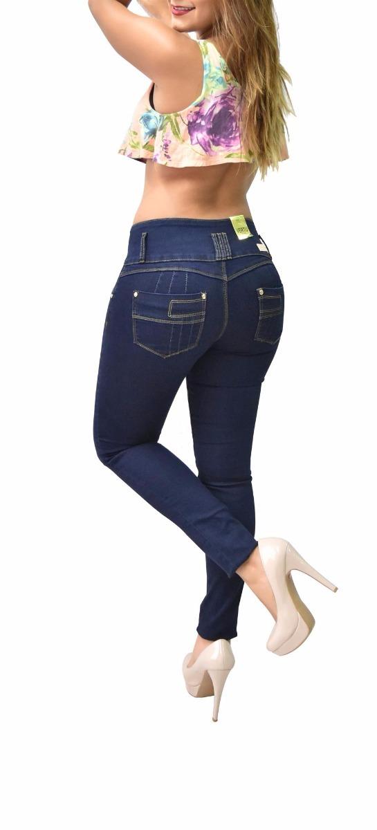 8e8481a75b5 pantalones colombianos jeans dama mezclilla push up v-f23. Cargando zoom.