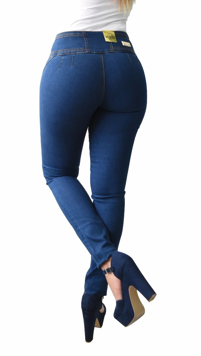 8d61110f4b3 pantalones colombianos jeans dama mezclilla push up v-f24. Cargando zoom.
