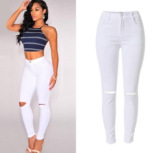 pantalónes corte alto / cintura pára damas tallas  s, m, l