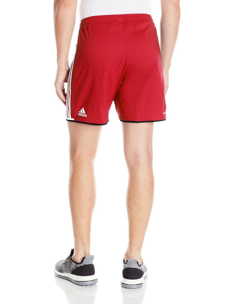 Pantalones Cortos adidas Condivo 16, Rojo Negro Blanc