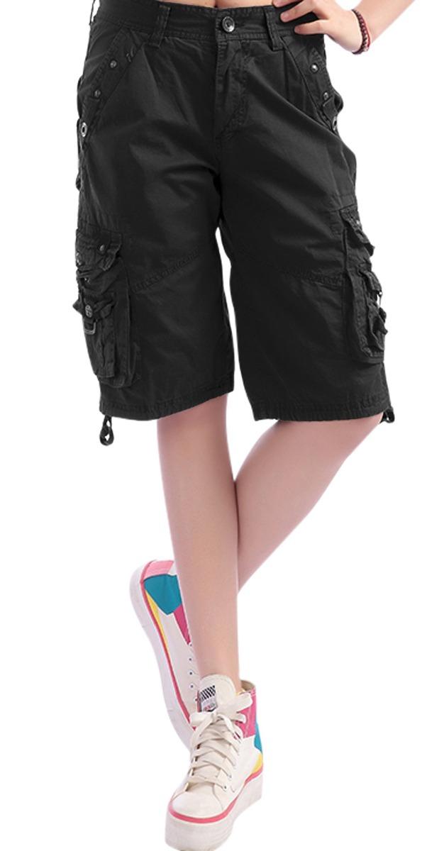 b1d6891c58 pantalones cortos con tirantes bermuda cargo de chouyatou. Cargando zoom.