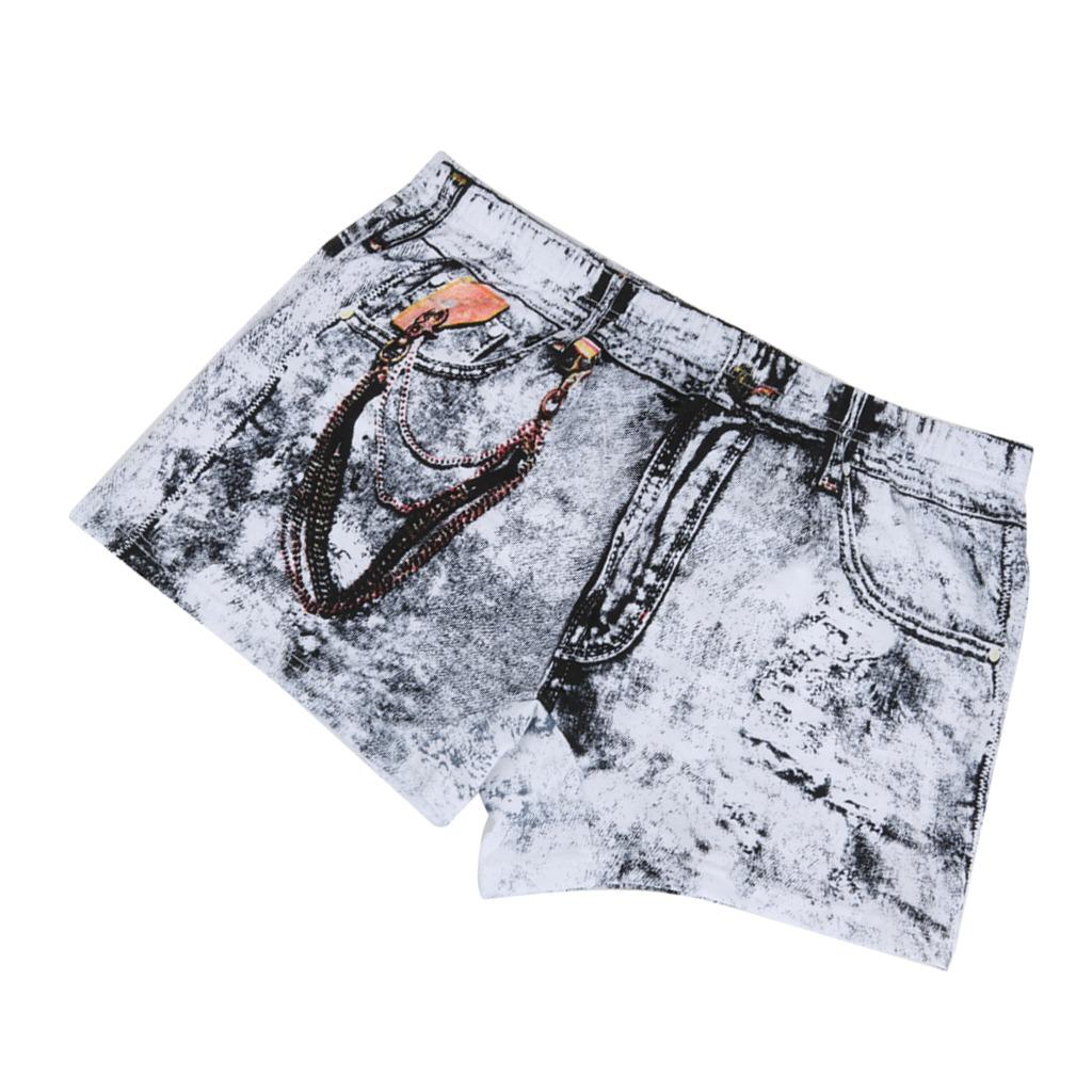 59599f2fa pantalones cortos de algodón de dibujos animados hombres j. Cargando zoom.